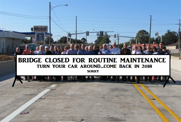 Tiger Drive Bridge Closure