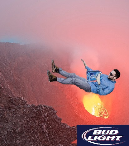 man kicked into volcano 1