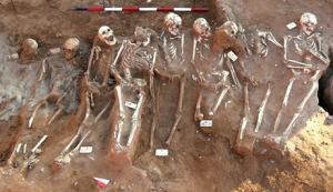mass graves