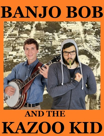 banjo bob and the kazoo kid poster