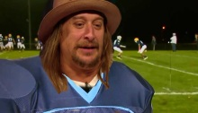 kid rock scores touchdown