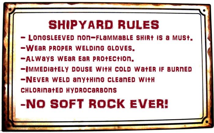 shipyard rules