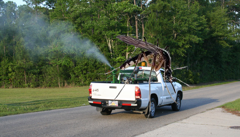 mosquito truck killing