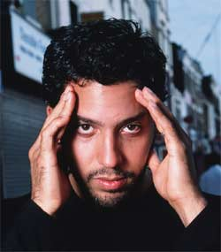 David Blaine, pictured above, making wetlands disappear with his mind.