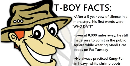 tboy facts
