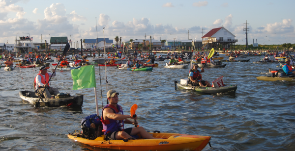 Nation s craft beer reserves left unguarded as hundreds of for Kayak fishing louisiana