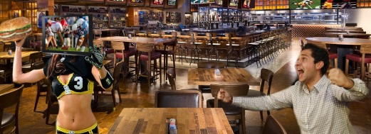 Dining Room at TAP Sports Bar