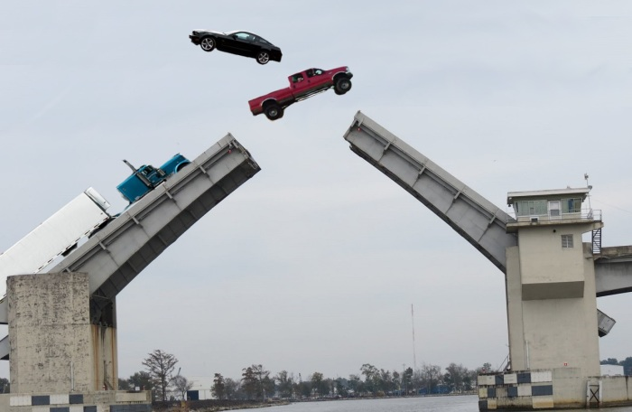 dularge bridge jump