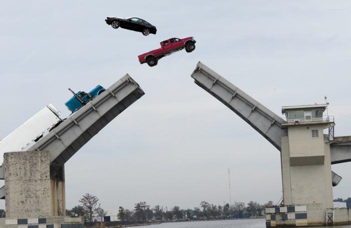 dularge bridge jump