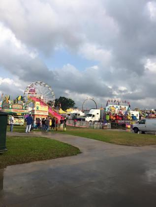 firemens fair rain